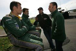 Stéphane Sarrazin, Pedro Lamy, David Brabham et Darren Turner