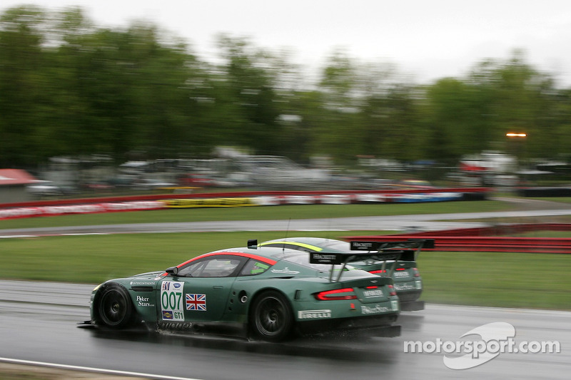 #007 Aston Martin Racing Aston Martin DB9: Tomas Enge, Darren Turner, #009 Aston Martin Racing Aston Martin DB9: Pedro Lamy, Stéphane Sarrazin