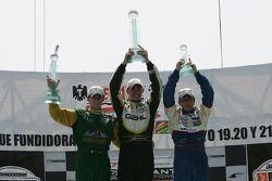 Simon Pagenaud, Graham Rahal, David Martinez