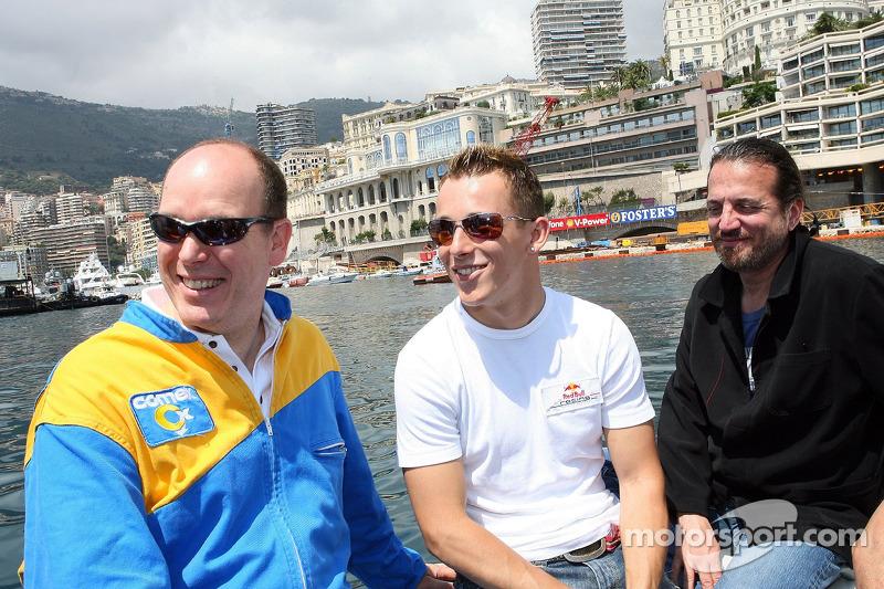 Opération Poséidon: Prince Albert de Monaco et Christian Klien
