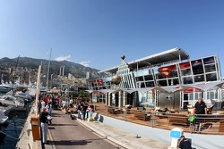 The Superman branded Energy Station and Monte Carlo harbor