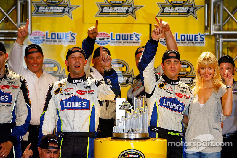 2006: Jimmie Johnson (Hendrick-Chevrolet)