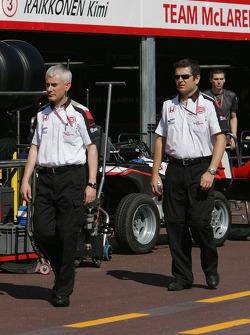 Geoff Willis and Gil de Ferran
