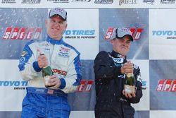 Podium: race winner Chip Herr and third place Jeff Altenburg