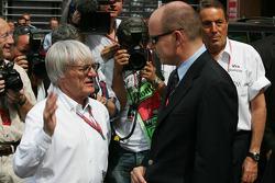 Bernie Ecclestone and Prince Albert II of Monaco