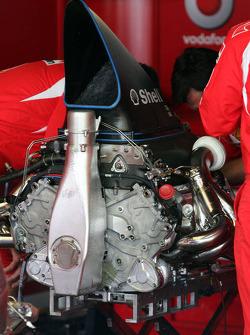 Ferrari V8 engine