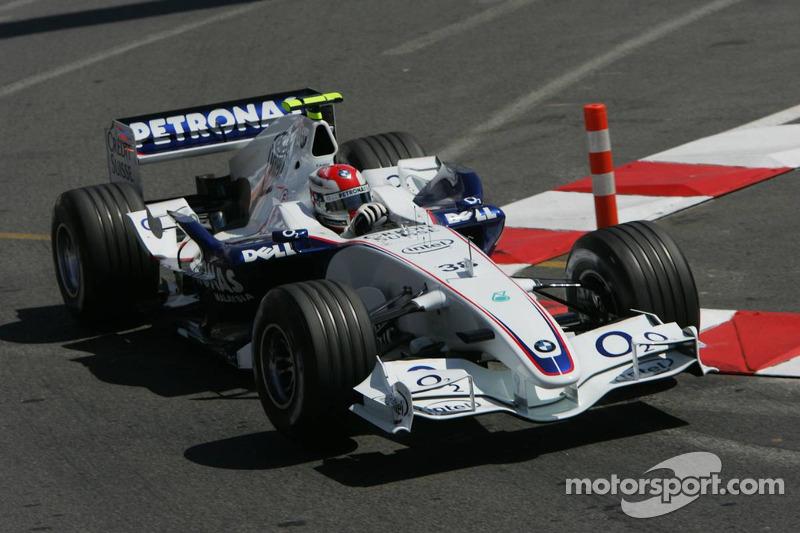Robert Kubica, Grand Prix Monako 2006