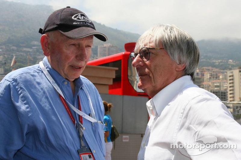John Surtees ve Bernie Ecclestone
