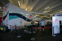Piquet Sports garage area