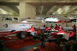BCN Competicion crew work on the cars