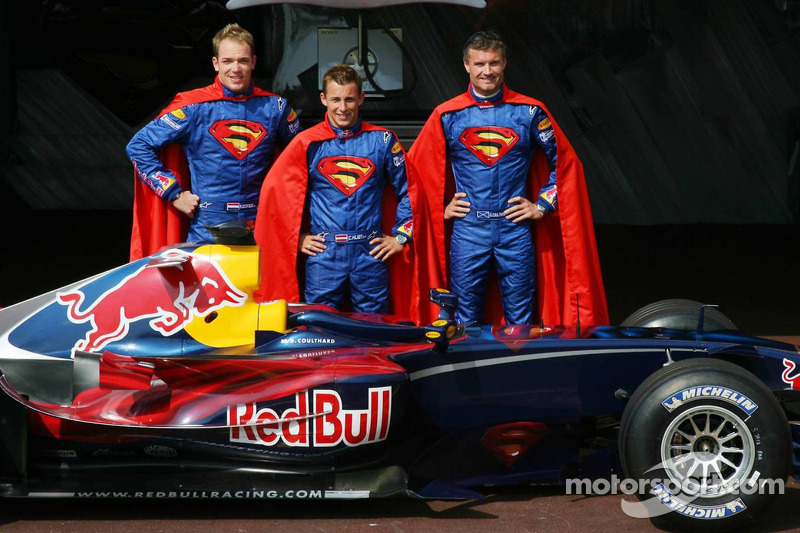 2006 - Red Bull, Robert Doornbos, Christian Klien e David Coulthard