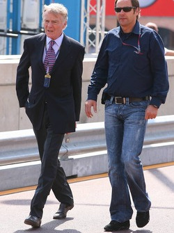 Max Mosley and Gerhard Berger