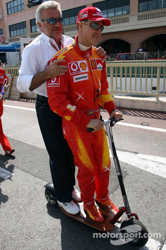 Michael Schumacher et Willi Weber