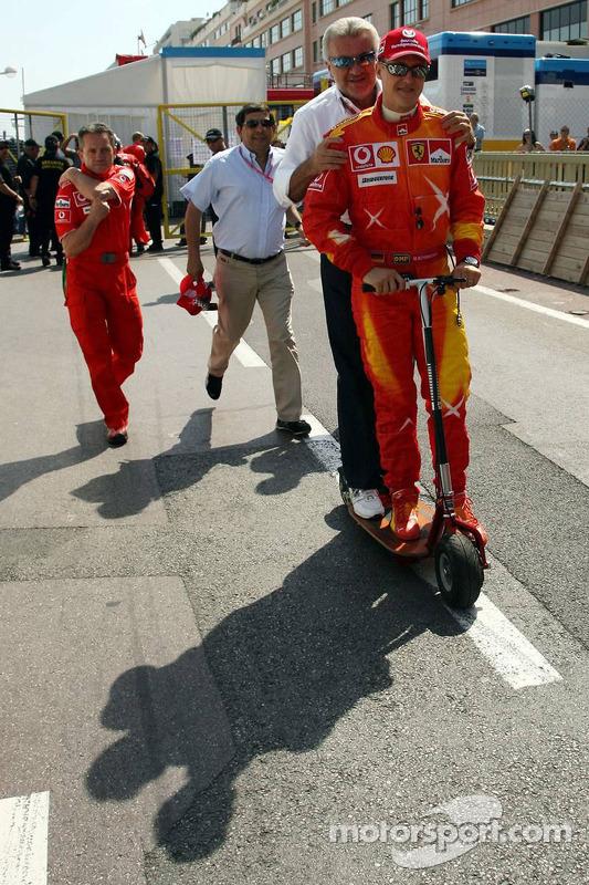 Michael Schumacher et Willi Weber