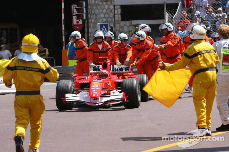Michael Schumacher en Mónaco 2006