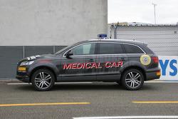 Audi Q7 coche médico para la 24 horas de Le Mans