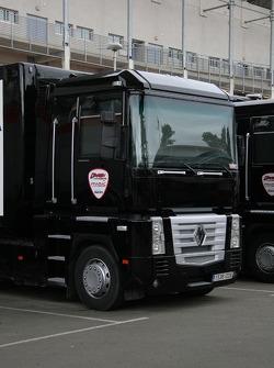 Teamtransporter: D'Antin Ducati