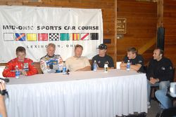Conférence de presse: Brian Frisselle, Ricky Rudd, Rob Finlay, Memo Gidley, Michael McDowell et Guy