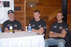 Conférence de presse: Memo Gidley, Michael McDowell et Guy Cosmo