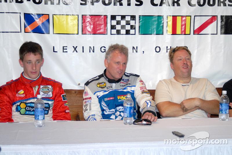 Conférence de presse: Brian Frisselle, Ricky Rudd et Rob Finlay