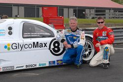 Ricky Rudd and Brian Frisselle