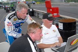 Ricky Rudd, Garth Finley et Price Cobb
