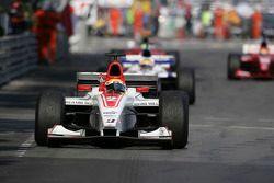 Lewis Hamilton wins the race