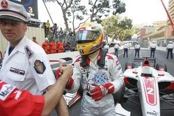 Lewis Hamilton le vainqueur de la course