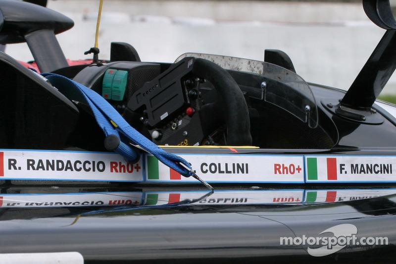 Hors de la course au tour 74 - #28 Ranieri Randaccio SCI Lucchini: Ranieri Randaccio, Fabio Mancini, Gianni Collini