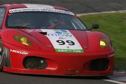 #99 Virgo Motorsport Ferrari F430 GT: Dan Eagling, Tim Sugden, Ian Khan