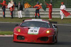 Wind-down lap - #99 Virgo Motorsport Ferrari F430 GT: Dan Eagling, Tim Sugden, Ian Khan