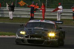 Wind-down lap - #62 Cirtek Motorsport Aston Martin DBR9: Peter Hardman, Christian Vann