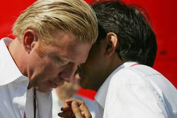 Boris Becker et Pasquale Lattuneddu
