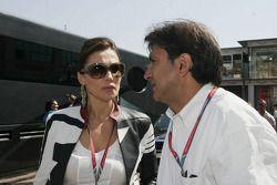 Pasquale Lattuneddu et Slavica Ecclestone