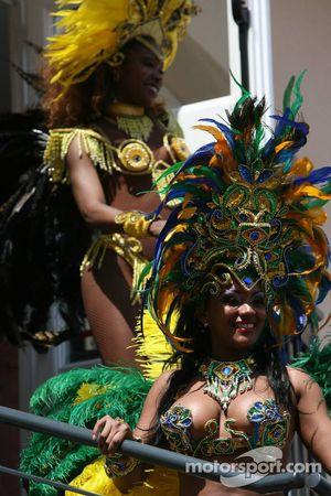 Des danseuses brésiliennes