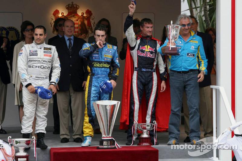 2006: 1. Фернандо Алонсо, 2. Хуан-Пабло Монтойя, 3. Дэвид Култхард