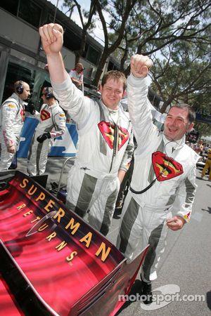 Des mécaniciens de Red Bull Racing