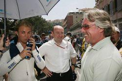Keke Rosberg et Nico Rosberg