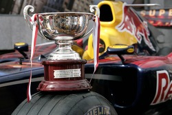 The trophy of David Coulthard