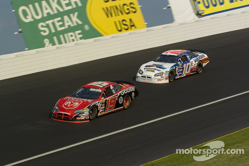 Jeremy Mayfield et Scott Riggs