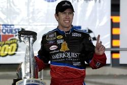 Victory lane: Carl Edwards