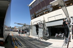 Stand de Audi Sport Team Joest