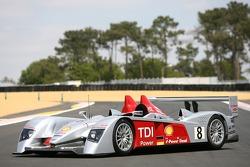 Séance photos de Audi Sport Team Joest: la #8 Audi Sport Team Joest Audi R10