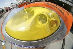 Détail de la Spyker C8 Spyder
