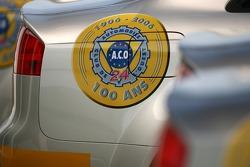 Détail d'une voiture de sécurité Audi