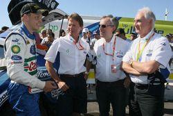 Mikko Hirvonen avec l'équipe Ford Rally