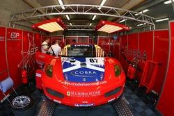 Le garage Scuderia Ecosse