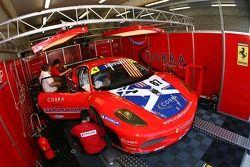 Scuderia Ecosse garage area
