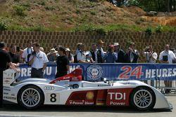 Audi Sport Team Joest Audi R10 at scrutineering