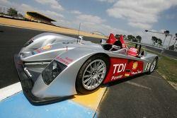 Audi Sport Team Joest photoshoot: the Audi Sport Team Joest Audi R10
